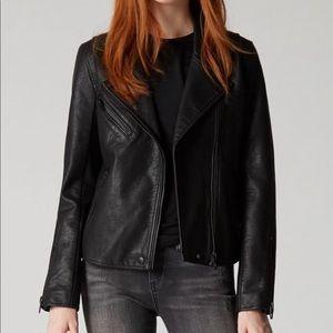 NWT Blank NYC Onyx Faux Leather Jacket